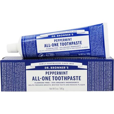 Dr Bronners Peppermint All One Toothpaste 140g