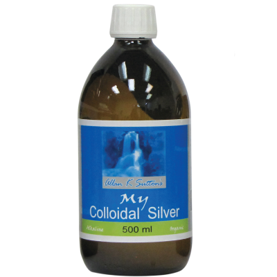 Allan K Sutton's My Colloidal Silver Glass 500ml