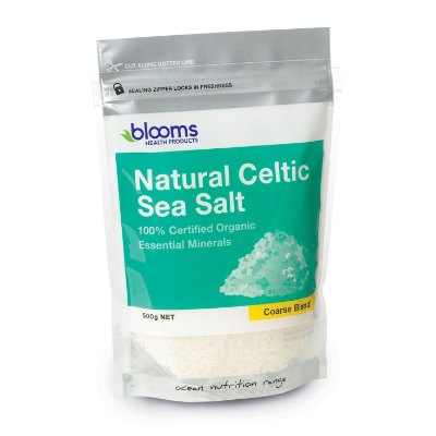 Blooms Health Products Celtic Sea Salt Coarse 500g