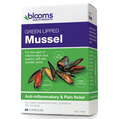 Blooms Health Products Green Lipped Mussel 60c