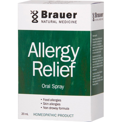 Brauer Natural Medicine Allergy Relief Spray 20ml