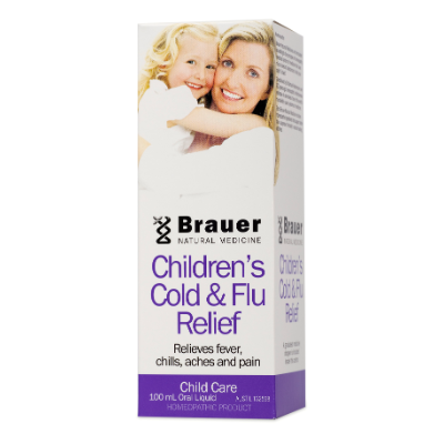 Brauer Natural Medicine Baby & Child Cold & Flu 100ml
