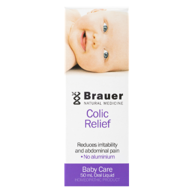 Brauer Natural Medicine Baby & Child Colic Relief 50ml