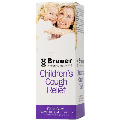 Brauer Natural Medicine Baby & Child Cough Relief 100ml