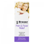 Brauer Natural Medicine Baby & Child Pain Fever Relief 50ml