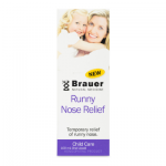 Brauer Natural Medicine Baby & Child Runny Nose Relief 100ml
