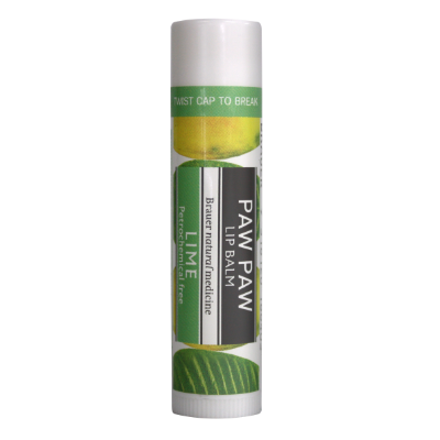 Brauer Natural Medicine Paw Paw Lip Balm Lime 5g