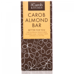 The Carob Kitchen Carob Almond Bar 80g