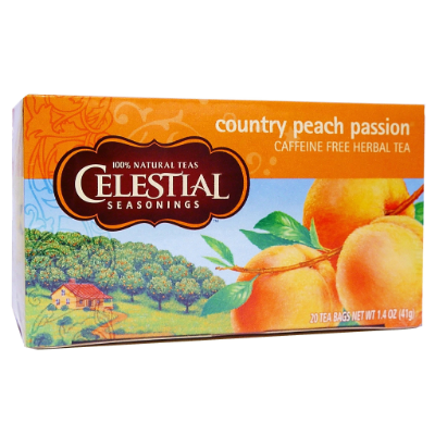 Celestial Tea Country Peach Passion 41g 20s Tea Bags