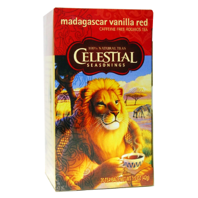 Celestial Tea Madagascar Vanilla Red 42g 20s Tea Bags