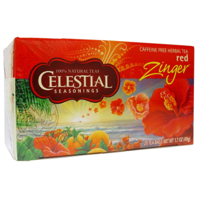 Celestial Tea Red Zinger 49g 20s Tea Bags