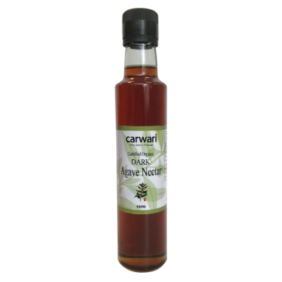 Carwari Organic Dark Agave Nectar 350ml