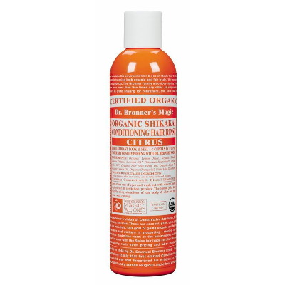 Dr Bronners Shikakai Conditioner Rinse Citrus 237ml