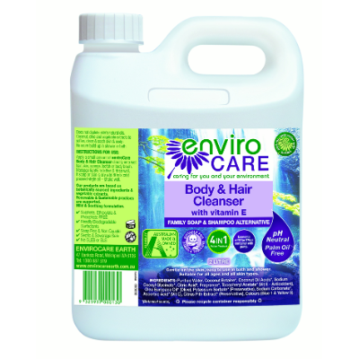 EnviroCare Body & Hair Cleanser 2L