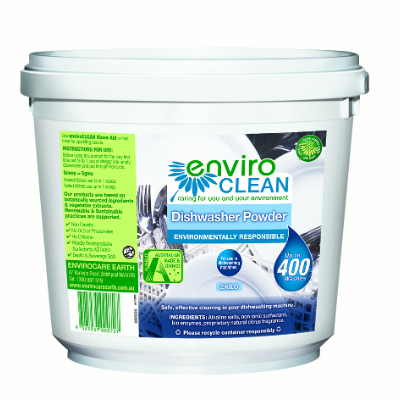 EnviroClean Dishwasher Powder 2kg