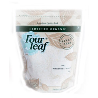Four Leaf 100% Wholewheat Flour 1kg