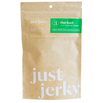 Just Jerky Herbed 50g