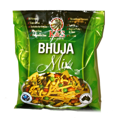 K & S Indian Foods Bhuja Mix 175g