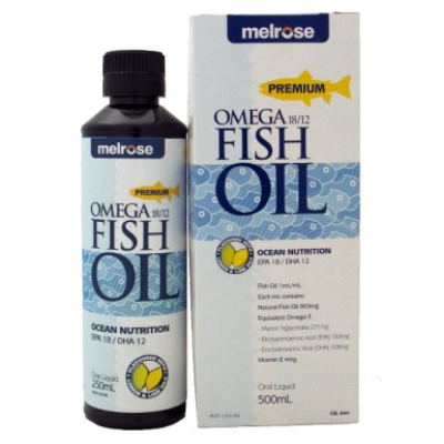 Melrose Omega 18/12 Fish Oil 500ml