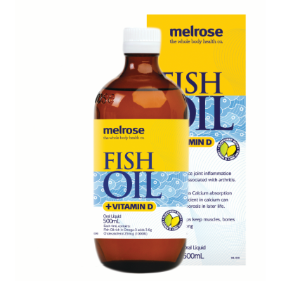 Melrose Fish Oil & Vitamin D 500ml