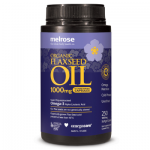 Melrose Organic Flaxseed Oil 1000mg 250vc