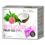 Smooze Fruit Ice Coconut & Pink Guava 8 x 65ml