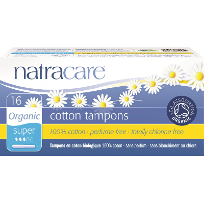 Natracare Tampons Applicator Super 9002 16s