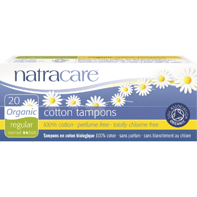 Natracare Tampons Non-Applicator Regular 20s