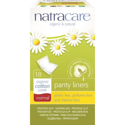 Natracare Panty Liners Normal Wrapped 18s