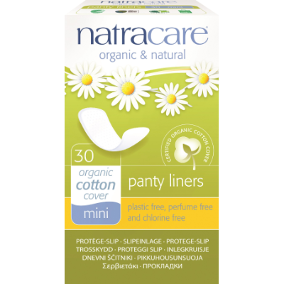 Natracare Panty Liners Mini 30s