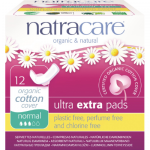Natracare Pads Ultra Extra Normal 12s