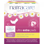 Natracare Pads Ultra Extra Super 10s