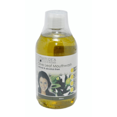 Natures Goodness Olive Leaf Mouthwash 500ml