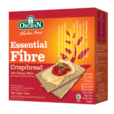 Orgran Good For You Rice Crispibread 125g