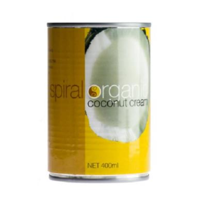 Spiral Foods Coconut Cream Organic 400ml