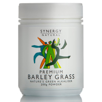 Synergy Natural Barley Grass Premium 200g