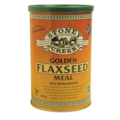 Stoney Creek Flax Meal Gold 500g  * Organic
