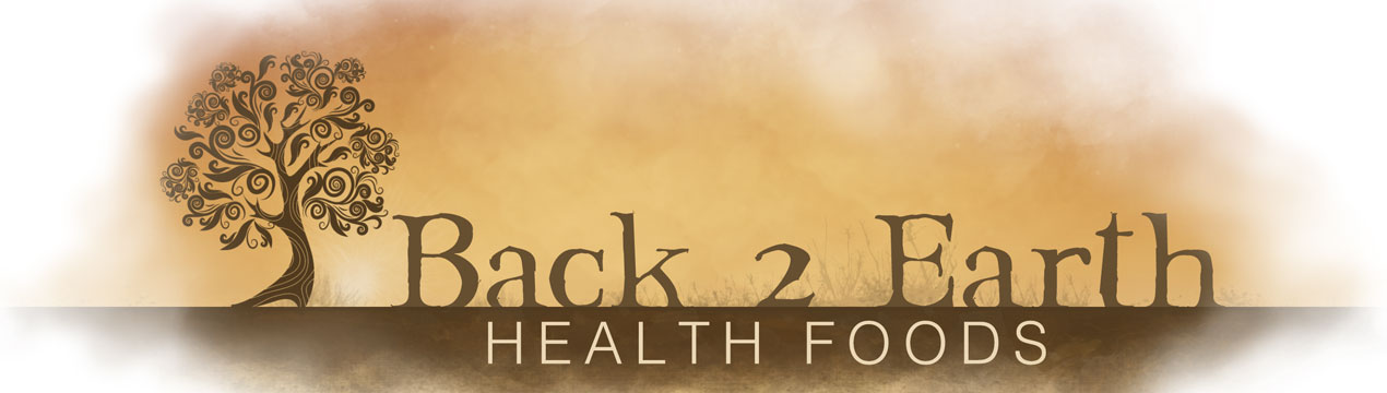 Logo Back2Earth Health Foods
