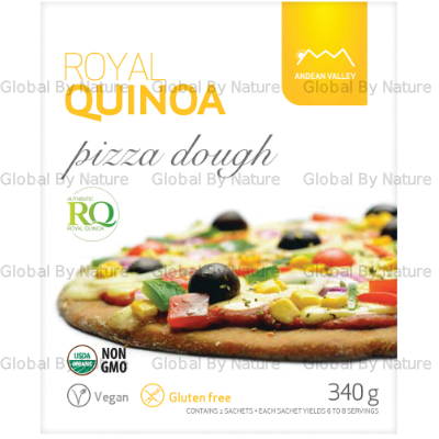 Andean Valley Org Royal Quinoa Pizza Dough 340g