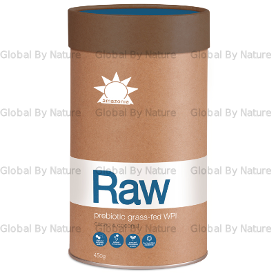 Amazonia Raw Prebiotic Grass-Fed WPI Cacao 450g