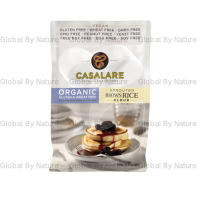 Casalare Org Sprouted Brown Rice Flour 500g