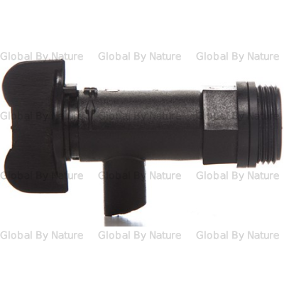EnviroClean Tap for Bulk Drums Black 20mm
