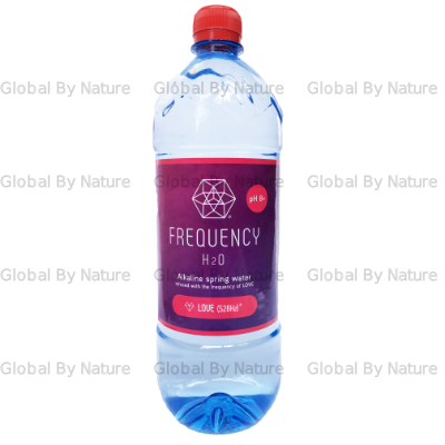 Frequency H2O Alkaline Spring Water: LOVE 1L