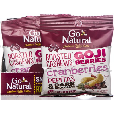 Go Natural Snack Pack Goji Berries 45g