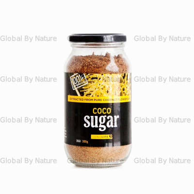 LongLife Health Coconut Sugar Org Glass Jar 300g