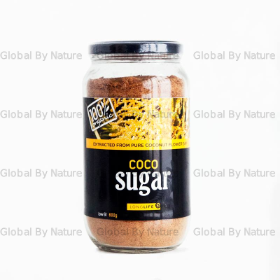 LongLife Health Coconut Sugar Org Glass Jar 600g