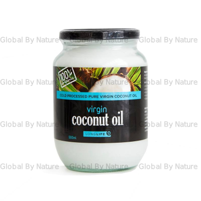 LongLife Health Virgin Orgnic Coconut Oil 500ml