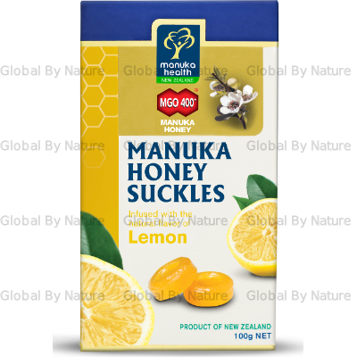 Manuka Health MGO 400+ Manuka Honey Suckles 100g