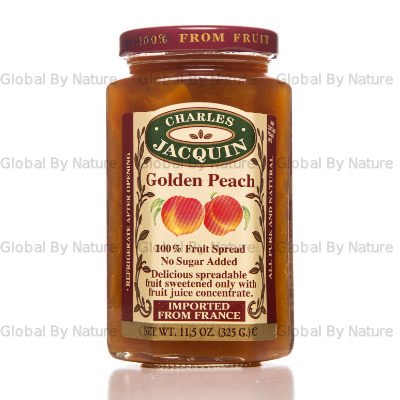 Charles Jacquin Fruit Spread Golden Peach 325g