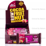 Go Natural Raw Cacao Almond Raspberry 40g
